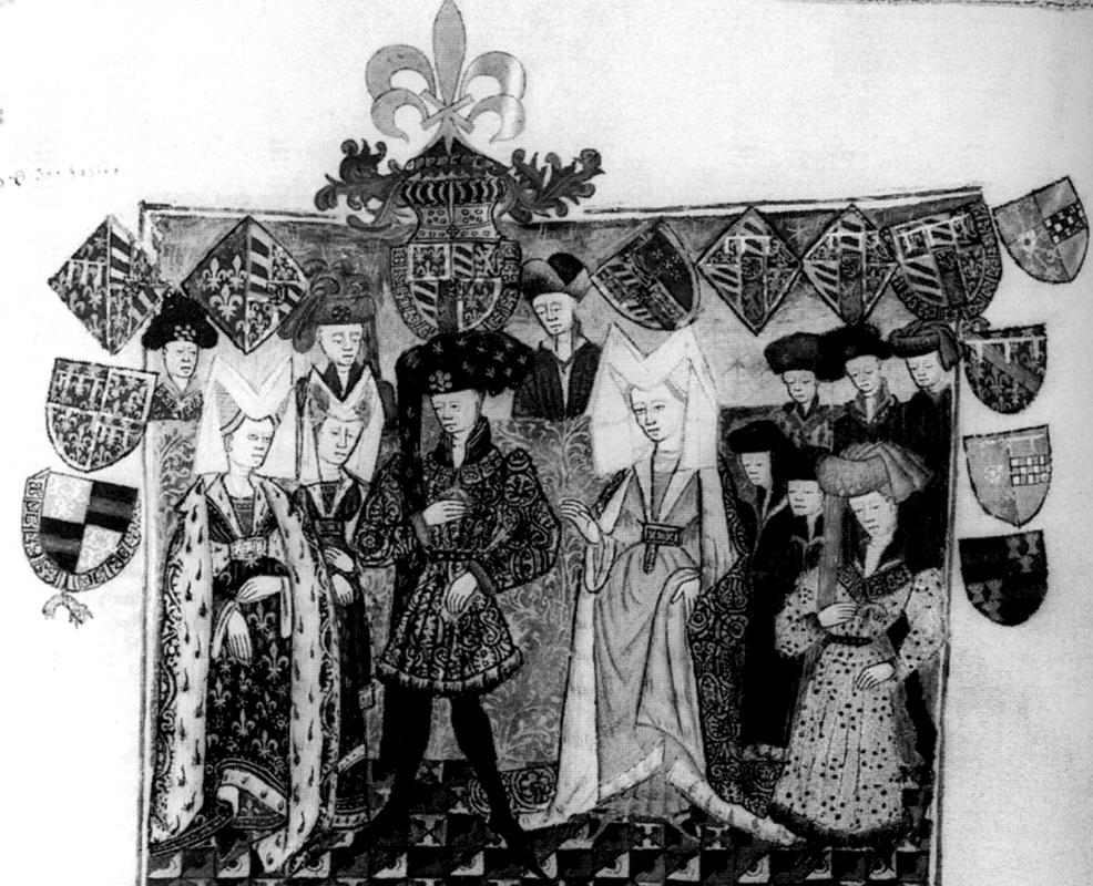 The wedding of Duke Philip the Good of Burgundy