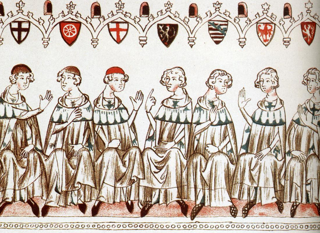 The Seven Electors of the Holy Roman Empire