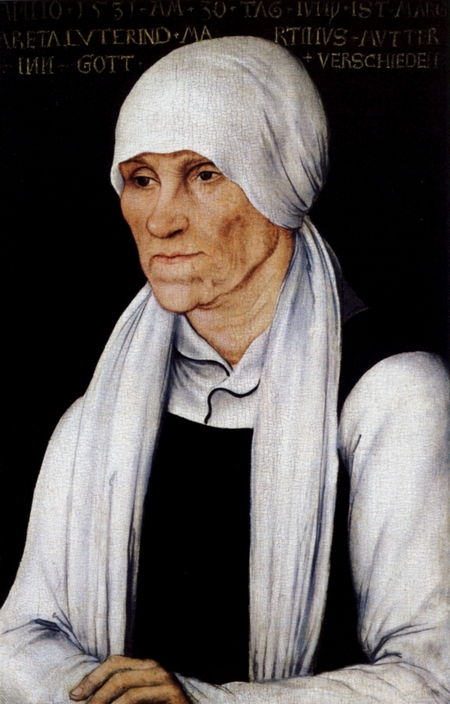 Margarethe Lindemann, die Mutter von Martin Luther