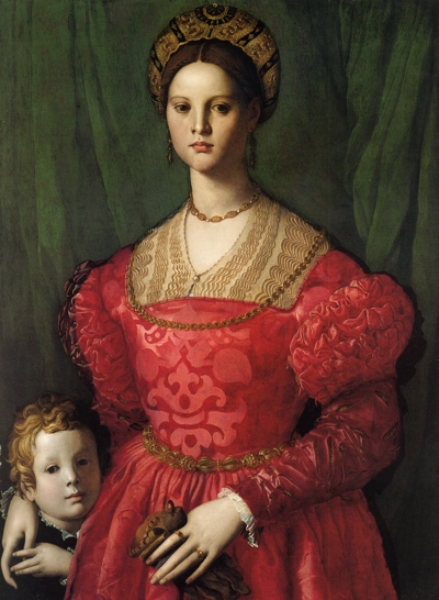Maria di Cosimo I de' Medici with her brother Antonio